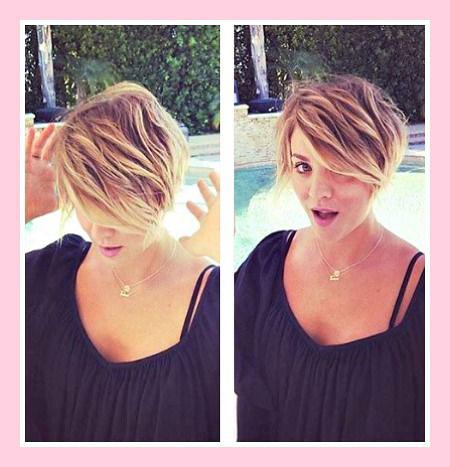 Pixie Balayage Hair