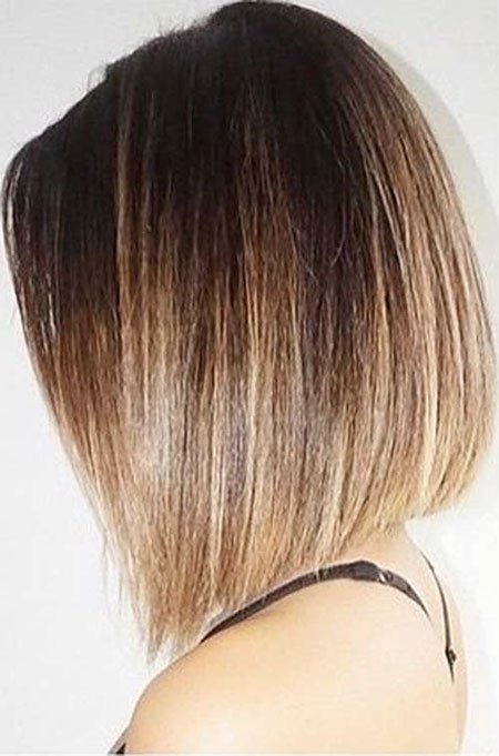 Black To Blonde Balayage Short Straight Hair , hair coloring