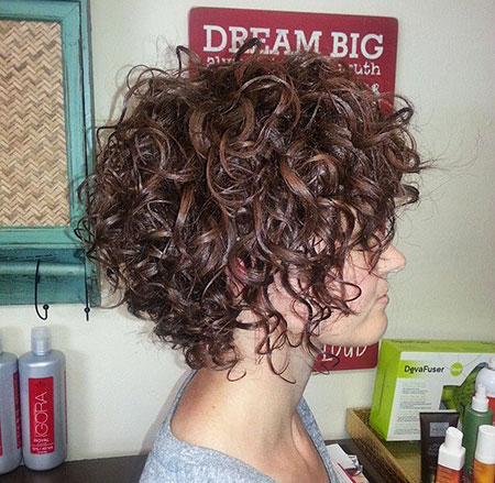 Awe Inspiring 35 New Short Curly Hairstyles Short Hairstyles 2016 Hairstyles For Women Draintrainus
