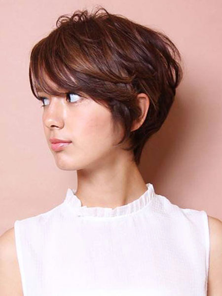 35+ New Short Hair with Bangs - Short Hairstyles 2018