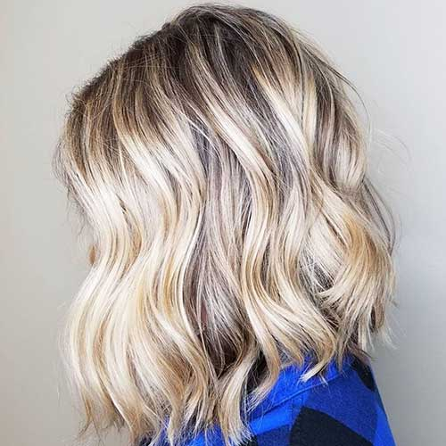 Short Wavy Thick Hair