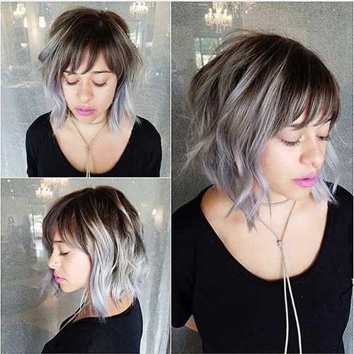 Short Cute Bang Hair