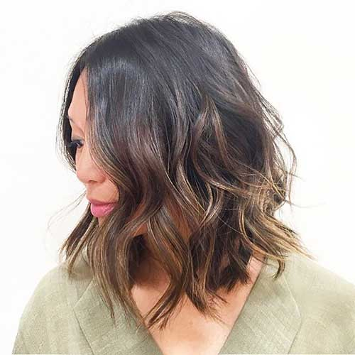 Short Brunette Hair Color