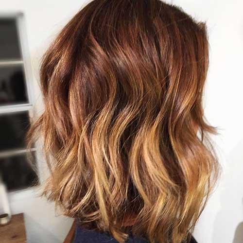 Short Wavy Hairstyle Hair