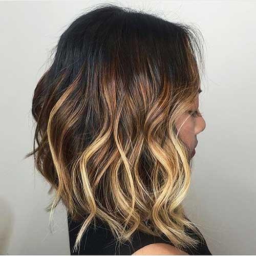 Short Wavy Hairstyles 2017