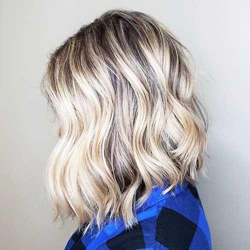Short Icy Blonde Hair
