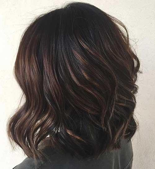 Short Dark Brown Hair - 10