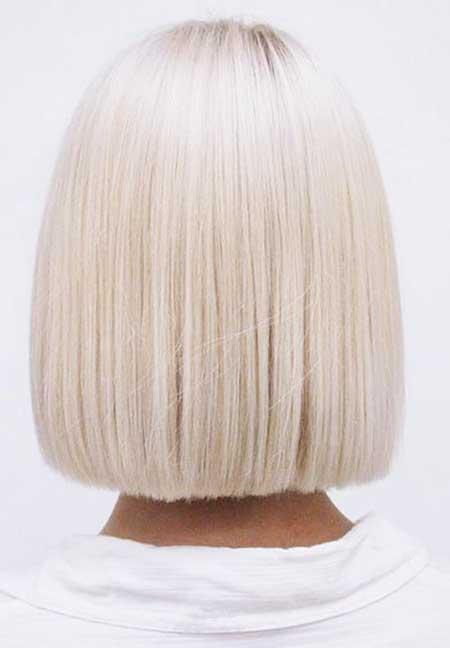 Short Platinum Blonde