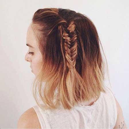 Easy Short Hairstyles - 13