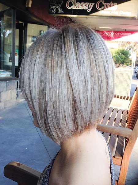 Short Blonde Ash Hair - 13