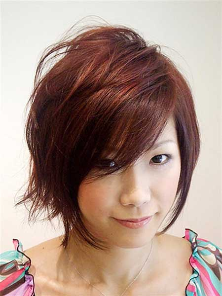 Short Haircuts for Women with Round Faces - 13