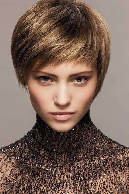 Short Hairstyles for Oval Faces - 13