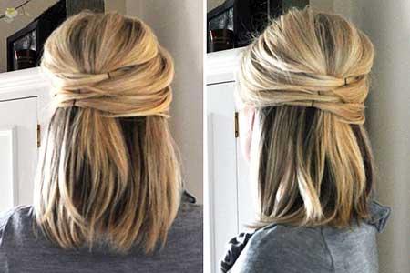 Easy Short Hairstyles - 14