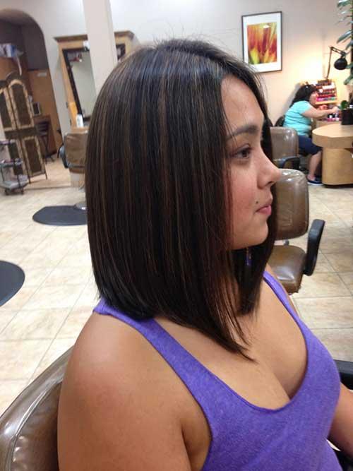 Short Dark Brown Hair - 14