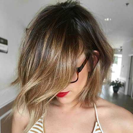 Ombre Short Hair - 15
