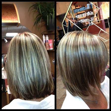 Short Brown Blonde Hair - 15