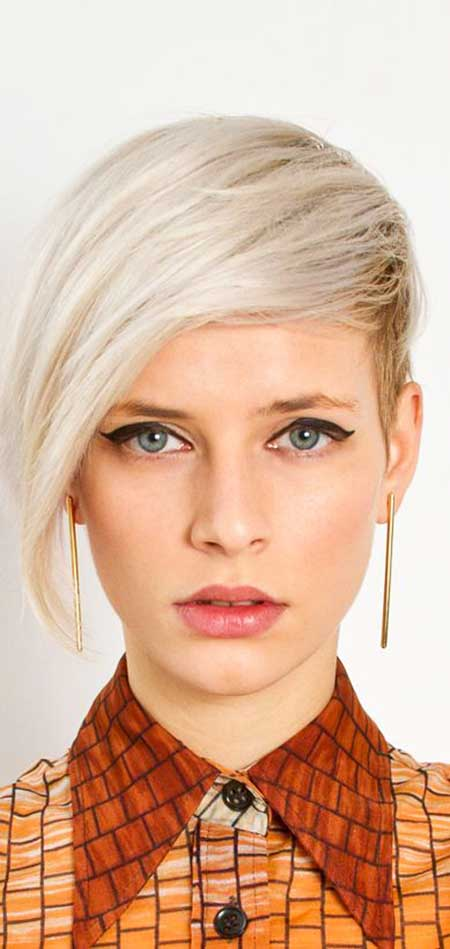 Short Hairstyles for Oval Faces - 15