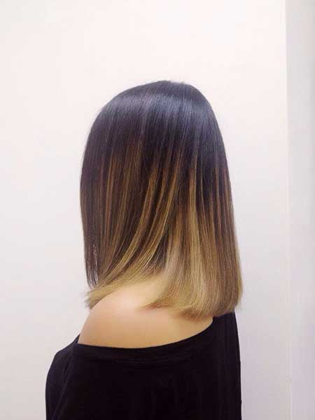 Ombre Short Hair - 16