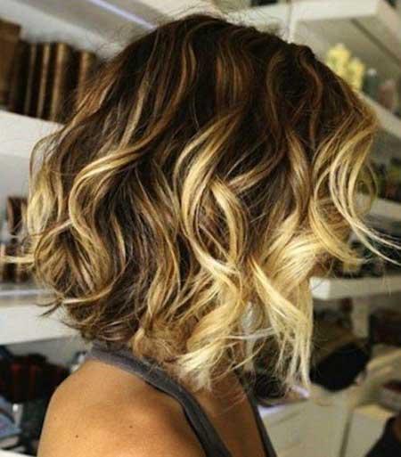 Short Brown Blonde Hair - 16