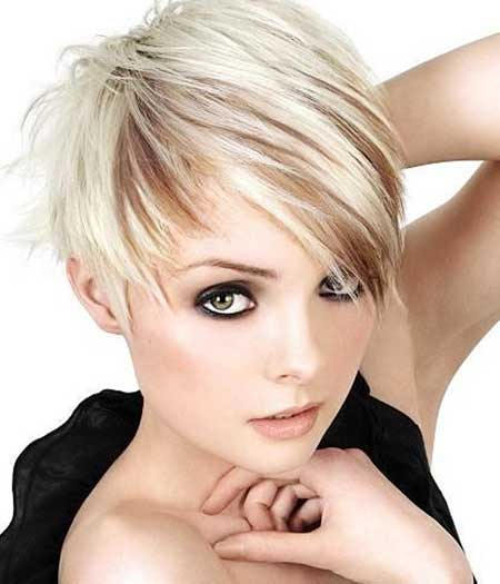 Short Hairstyles for Oval Faces - 16