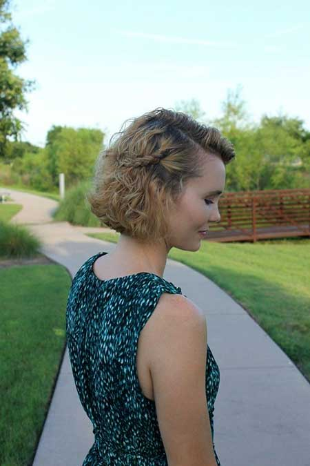 Easy Short Hairstyles - 17