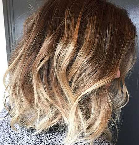 Short Brown Blonde Hair - 17
