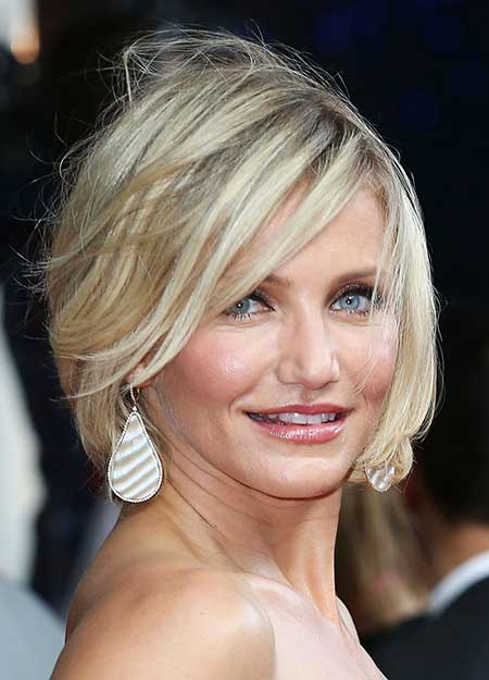 Short Haircuts for Women with Round Faces - 17