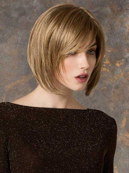 Short Hairstyles for Oval Faces - 17