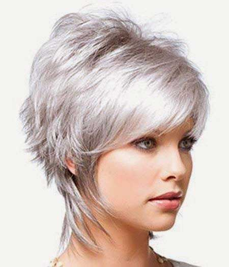 Short Gray Hair
