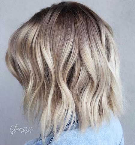 Short Blonde Ash Hair - 22