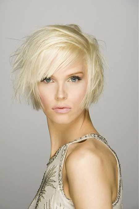 Short Hairstyles for Oval Faces - 23