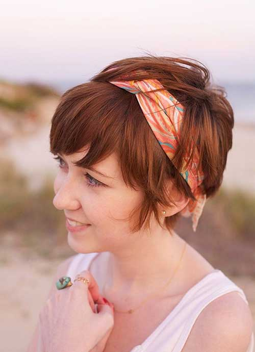 Hairstyles for Short Hair - 29