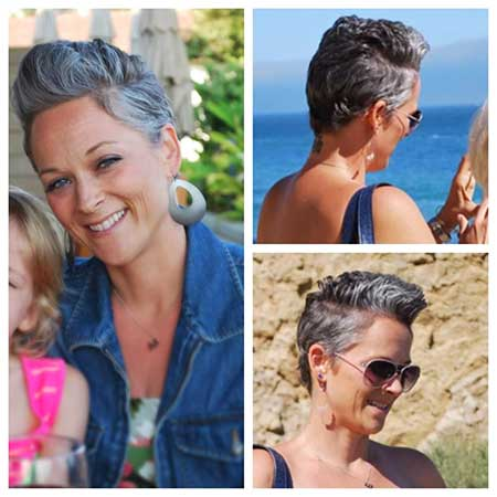 Silver Pixie for Older Ladies