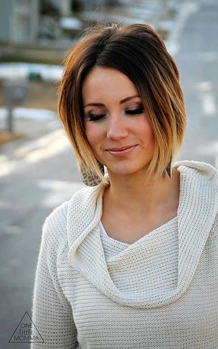 Short Hair 2016 Ombre