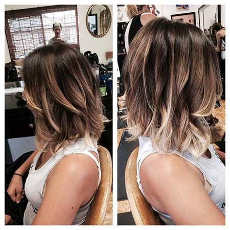 Ombre Short Hair - 6