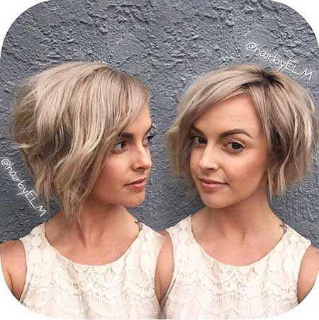 Short Blonde Ash Hair - 6