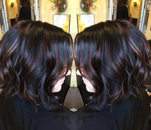 Short Dark Brown Hair - 6