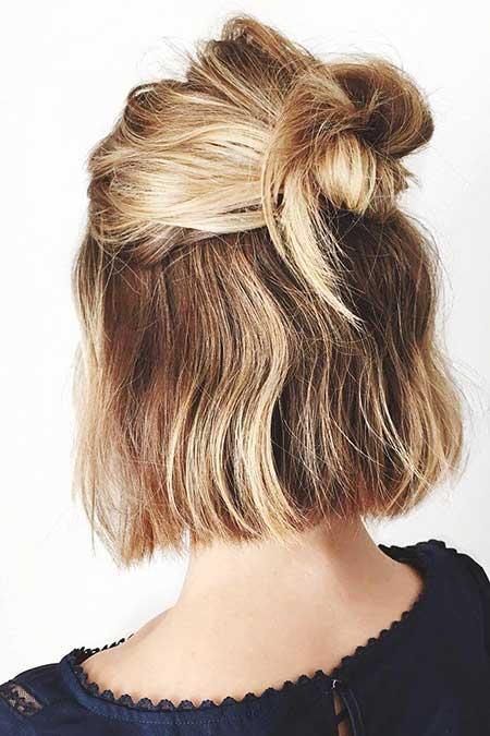 Easy Short Hairstyles - 7
