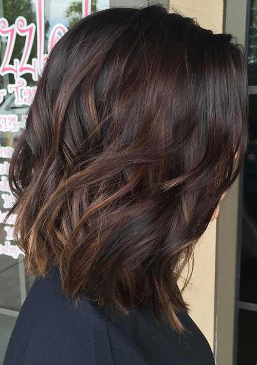 Short Dark Brown Hair - 7