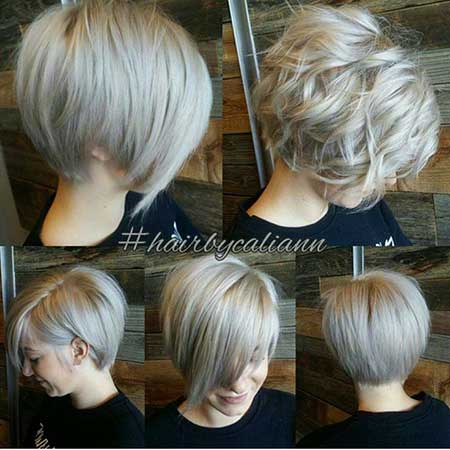 Short Blonde Ash Hair - 8