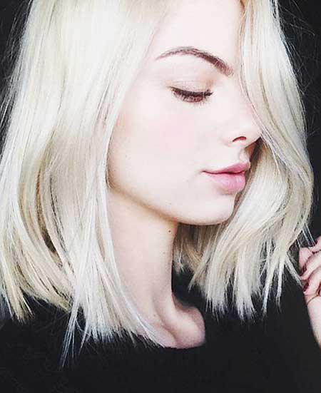 15 New Short Platinum Blonde Hair Short Hairstyles 2018