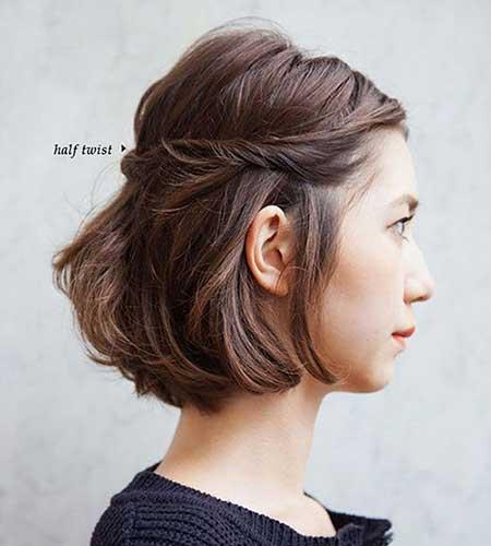 Easy Short Hairstyles - 9