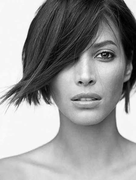 Short Hairstyles for Oval Faces - 9