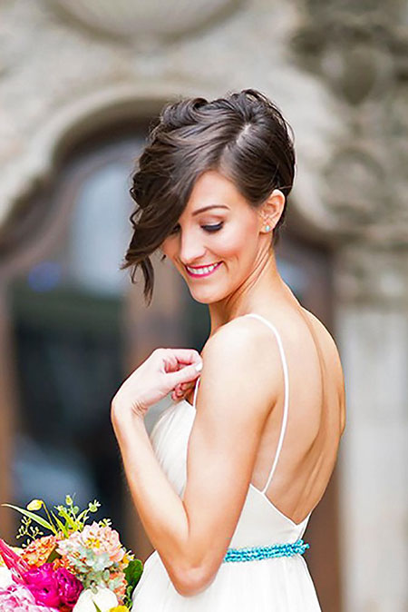 Wedding Updo Pixie Hairtyles