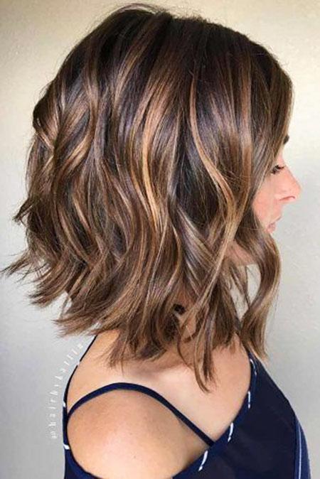Hair Highlights Caramel Balayage