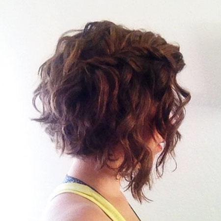 Curly Wavy Hair Bob