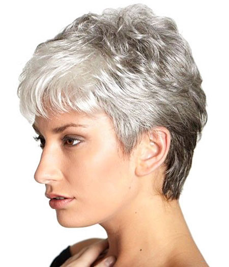 23 Short Haircuts For Women Over 50