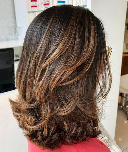 Hair Layered Shoulder Length