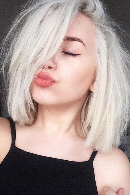Blonde Round Hair Faces