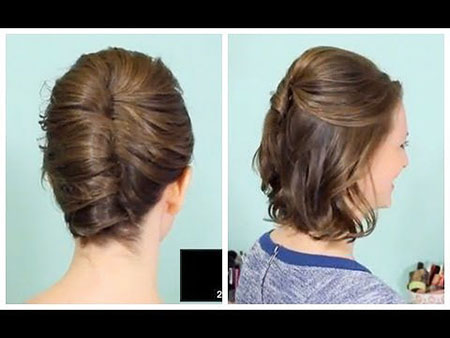 French Updo Hair Twist